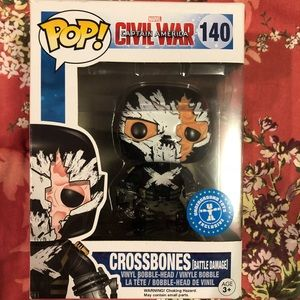Crossbones-Civil War-Funko Pop! - #140